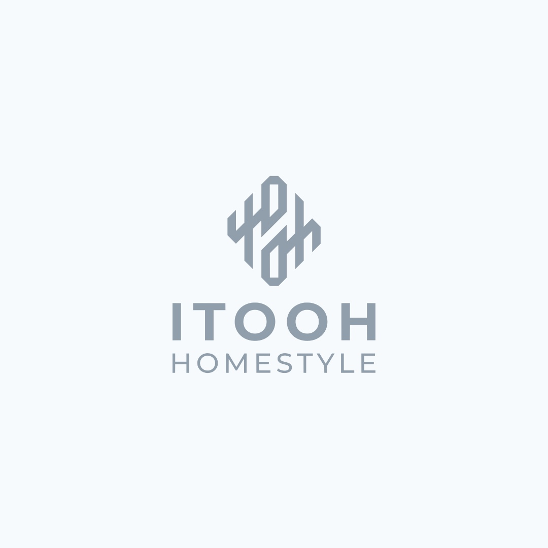 Rattan & Nito Dark Brown Tray with Folding Stand